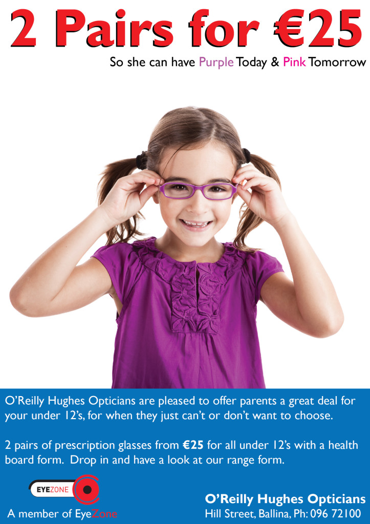 2 pair eyeglasses special offer